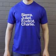 St Johnstone FC: Sierra Juliet Foxtrot Charlie T-Shirt