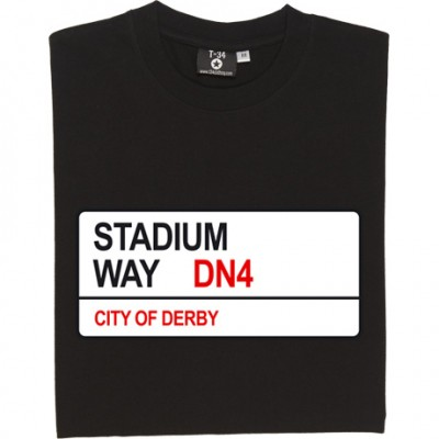 Doncaster Rovers: Stadium Way DN4 Road Sign