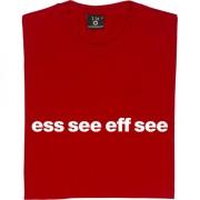 "Stoke City ""Ess See Eff See"" T-Shirt"