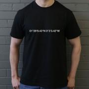 Millwall: The Den Coordinates T-Shirt