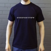 West Bromwich Albion: The Hawthorns Coordinates T-Shirt