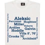 Tottenham 1981 FA Cup Final Line Up T-Shirt