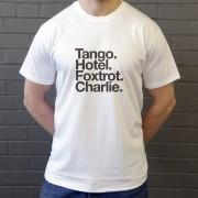 Tottenham Hotspur: Tango Hotel Foxtrot Charlie T-Shirt