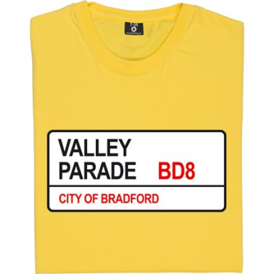 Bradford City: Valley Parade BD8 Road Sign