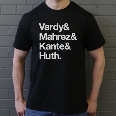 Vardy & Mahrez & Kante & Huth