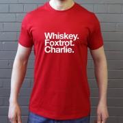 Walsall FC: Whiskey Foxtrot Charlie T-Shirt