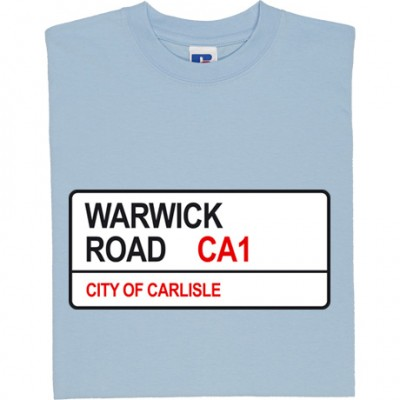 Carlisle United: Warwick Road CA1 Road Sign