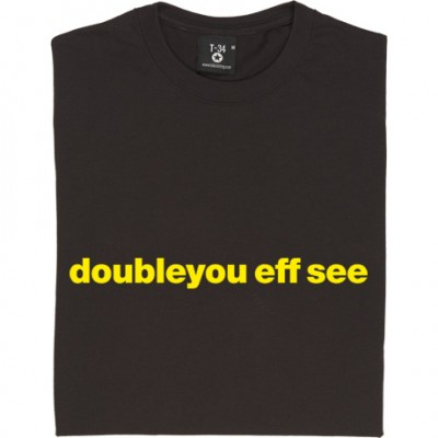 "Watford ""Doubleyou Eff See"""