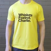 Watford FC: Whiskey Foxtrot Charlie T-Shirt