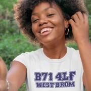 West Bromwich Albion Postcode T-Shirt