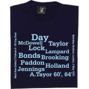 West Ham 1975 FA Cup Final Line Up T-Shirt