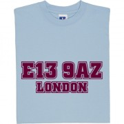 West Ham United Postcode T-Shirt