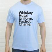 West Ham United FC: Whiskey Hotel Uniform Foxtrot Charlie T-Shirt