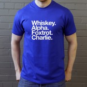Wigan Athletic FC: Whiskey Alpha Foxtrot Charlie T-Shirt