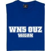 Wigan Athletic Postcode T-Shirt