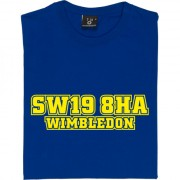 Wimbledon Plough Lane Postcode T-Shirt