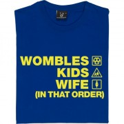 Wombles Kids Wife (In That Order) T-Shirt