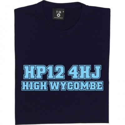 Wycombe Wanderers Postcode