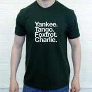 Yeovil Town FC: Yankee Tango Foxtrot Charlie T-Shirt
