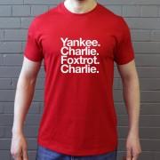 York City FC: Yankee Charlie Foxtrot Charlie T-Shirt