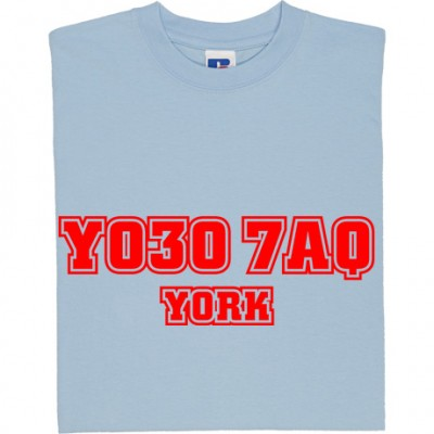 York City Postcode