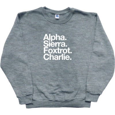 Accrington Stanley FC: Alpha Sierra Foxtrot Charlie