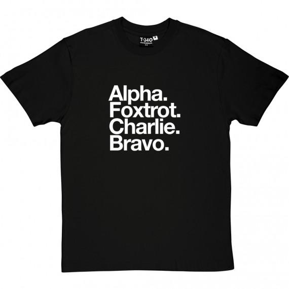AFC Bournemouth: Alpha Foxtrot charlie Bravo T-Shirt