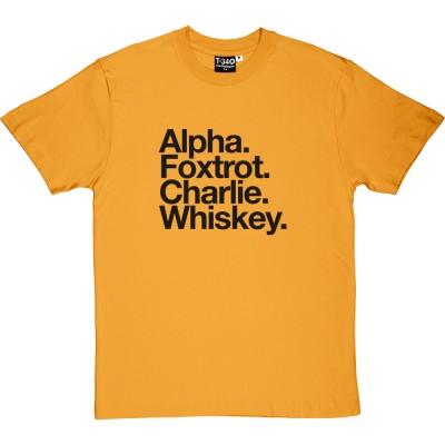 AFC Wimbledon: Alpha Foxtrot Charlie Whiskey