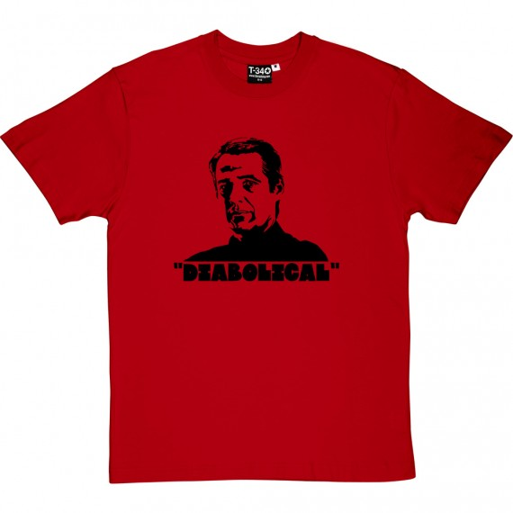 """Alan Hansen """"Diabolical"""" T-Shirt"""