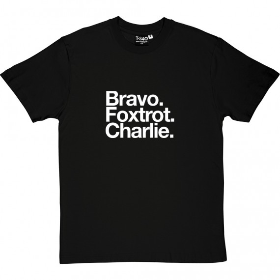 Barnsley FC: Bravo Foxtrot Charlie T-Shirt