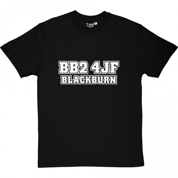 Blackburn Rovers Postcode T-Shirt