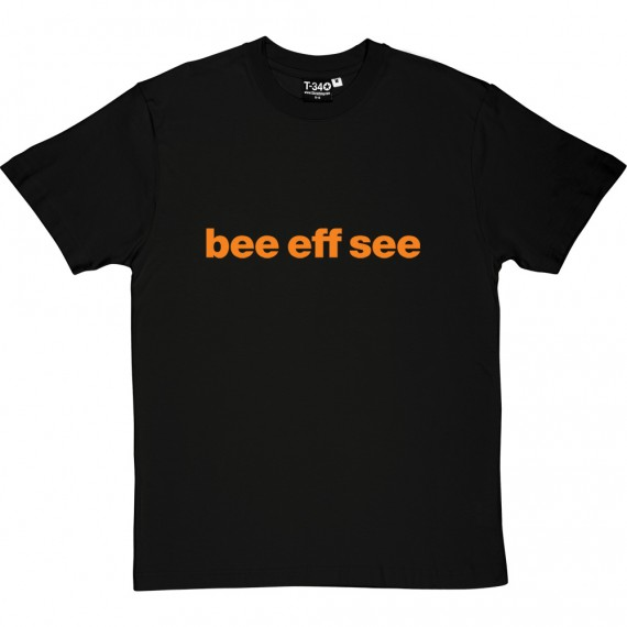 "Blackpool ""Bee Eff See"" T-Shirt"