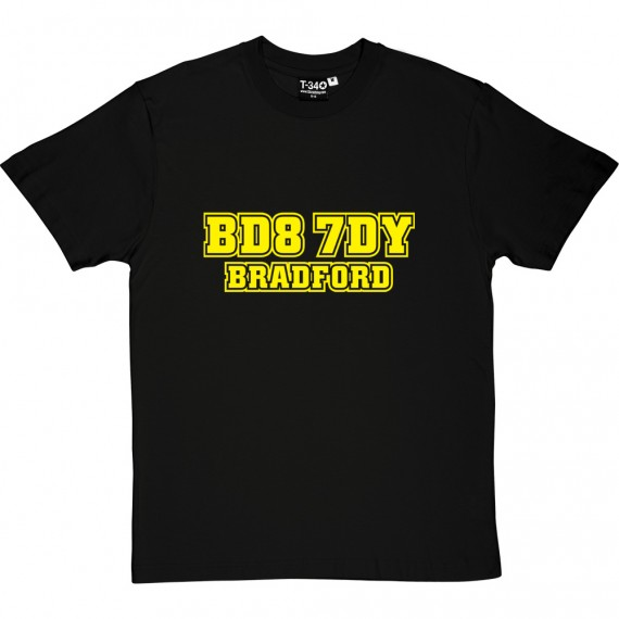 Bradford City Postcode T-Shirt