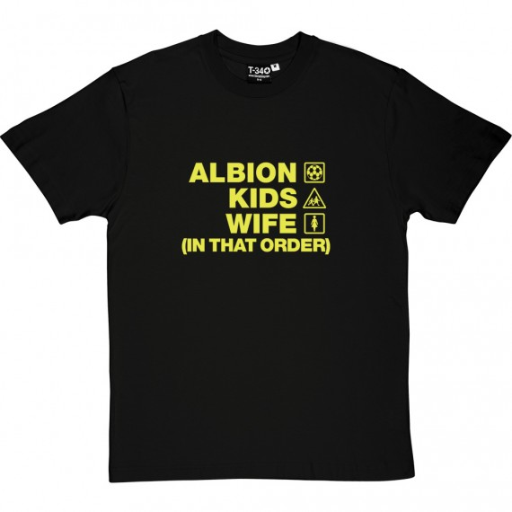 Albion Kids Wife (In That Order) T-Shirt