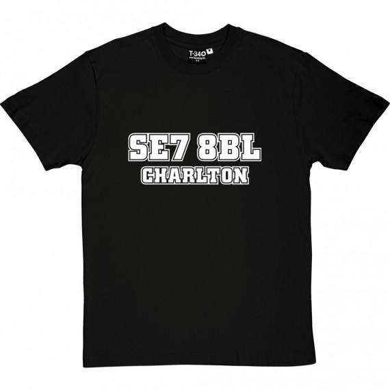 Charlton Athletic Postcode T-Shirt