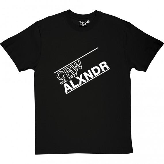 Crw Alxndr FC T-Shirt
