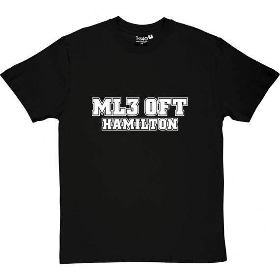 Hamilton Academical Postcode T-Shirt
