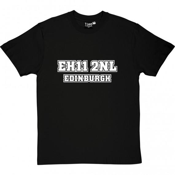 Hearts Postcode T-Shirt