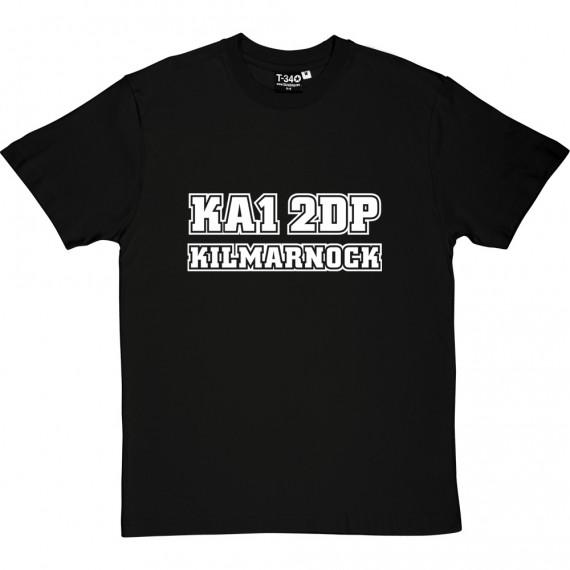 Kilmarnock Postcode T-Shirt