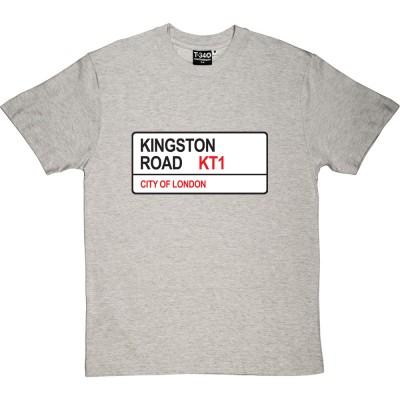 AFC Wimbledon: Kingston Road KT1 Road Sign