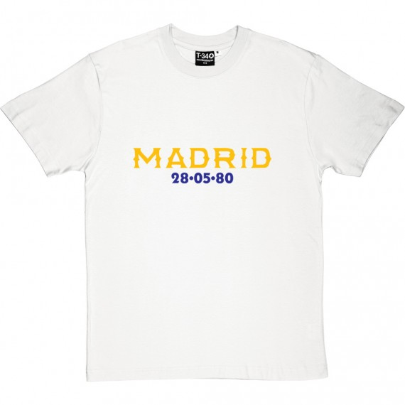 Madrid 28/05/80 T-Shirt