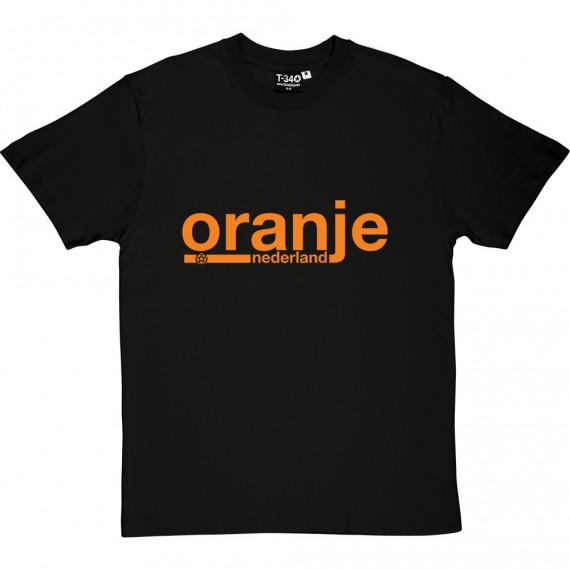 Oranje Nederland T-Shirt