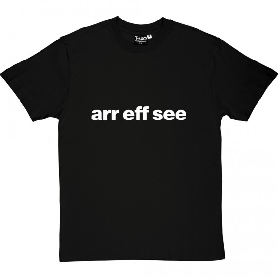 "Reading ""Arr Eff See"" T-Shirt"