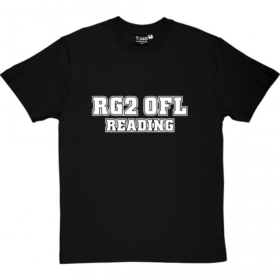 Reading Postcode T-Shirt