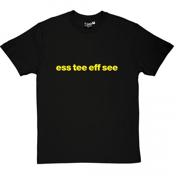 "Shrewsbury Town ""Ess Tee Eff See"" T-Shirt"