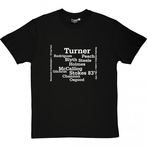 Southampton 1976 FA Cup T-Shirt