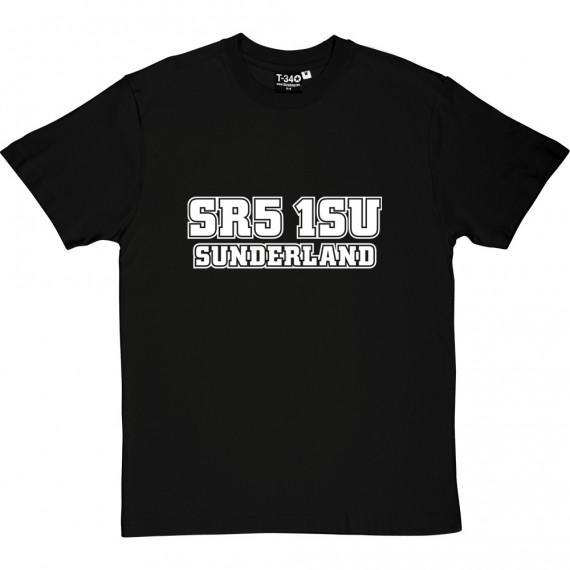 Sunderland Postcode T-Shirt