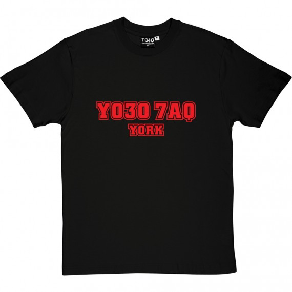 York City Postcode T-Shirt
